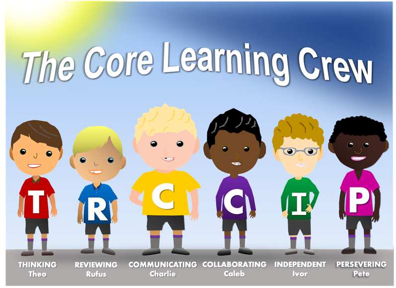 The core Learning Crew