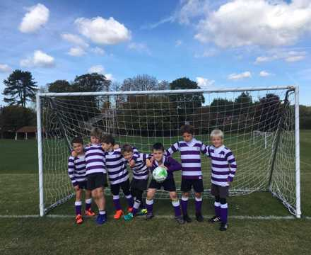 Runners up at the U8 Cranmoore Football tournament
