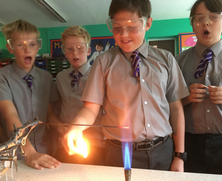 Year 7 copper rods
