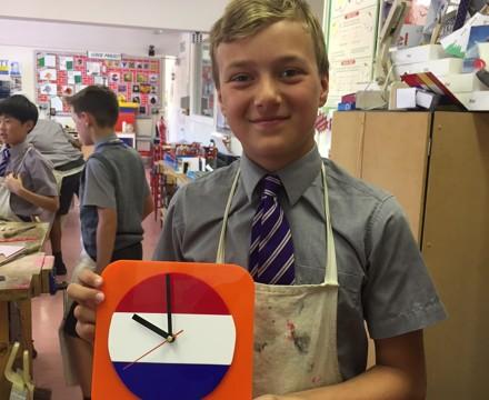 Y6 clock project 1