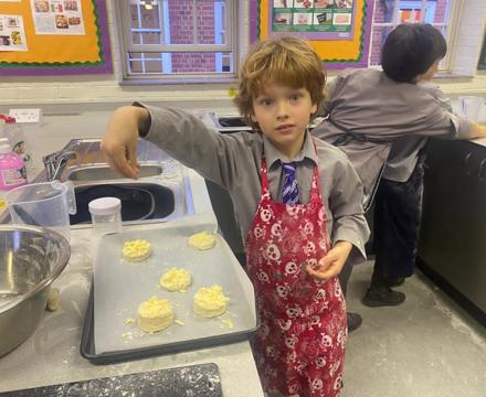 Yr 4 cheese scones