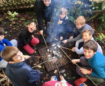 Forest school marshmallows