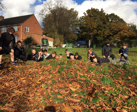 Forest school trenches