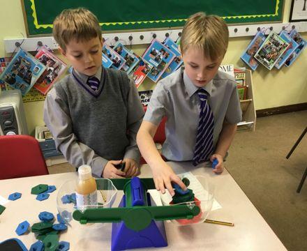 Maths weiging practical