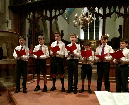 Music christmas singing