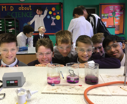Year 8 science brownian motion